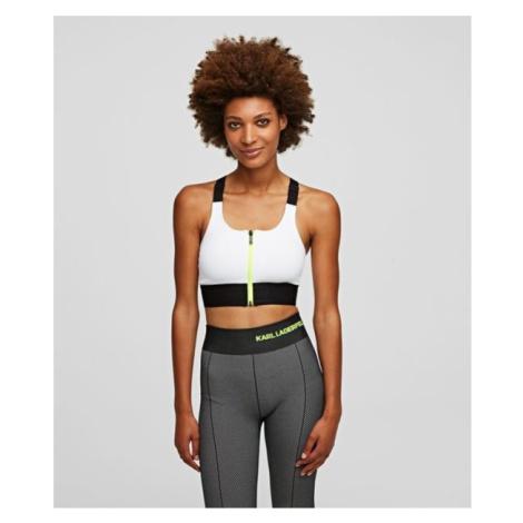 Spodní Prádlo Karl Lagerfeld Seamless Sports Braw/ Logo - Bílá