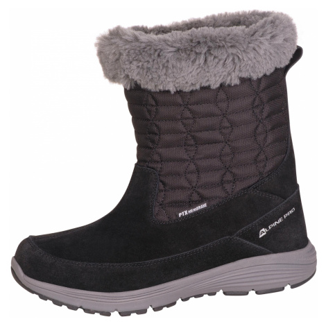 Dámská zimní obuv Alpine Pro PORTIA - černá