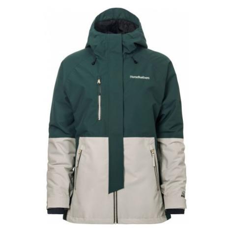 Horsefeathers AIRI JACKET zelená - Dámská lyžařská/snowboardová bunda
