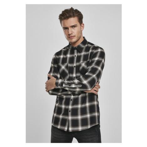 Checked Flanell Shirt 6 - black/white Urban Classics