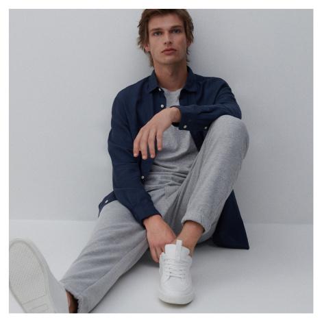 Reserved - Pánská košile - Tmavomodrá