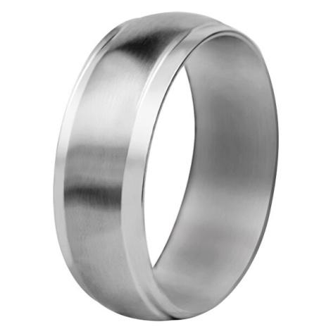 Troli Ocelový snubní prsten