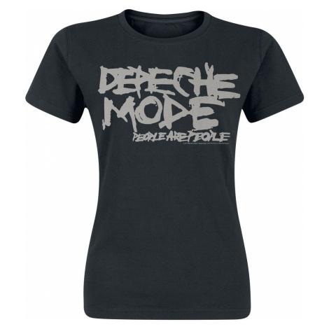 Depeche Mode People Are People dívcí tricko černá