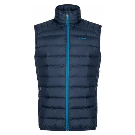 LOAP IRSAK Pánská vesta CLM2063L23M modrá