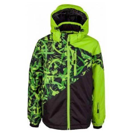 Lewro PHIL zelená - Chlapecká zimní bunda