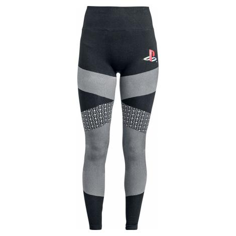 Playstation Retro Leginy cerná/šedá
