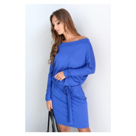 Modré šaty Adriana Oxyd
