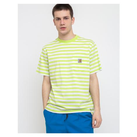 Carhartt WIP S/s Scotty Pocket T-Shirt Scotty Stripe/Lime/White