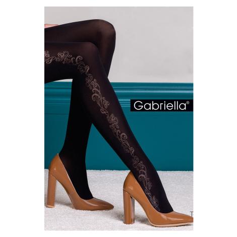 Vzorované punčochové kalhoty Brenda Gabriella