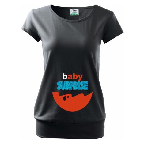 Těhotenské tričko Baby Surprise BezvaTriko
