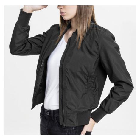 Bunda Urban Classics Ladies Light Bomber Jacket - black