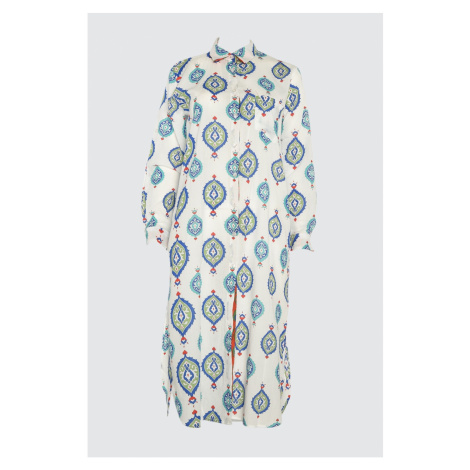 Trendyol Ethnically Patterned Vual Kimono&kaftan