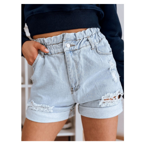 WERA women's denim shorts blue SY0221 DStreet