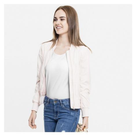 Urban Classics Ladies Light Bomber Jacket light pink