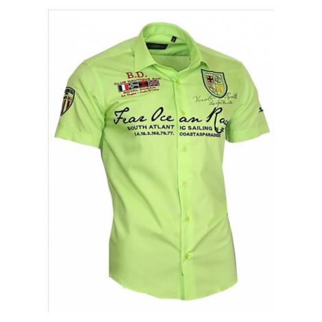 BINDER DE LUXE košile pánská 80607 s krátkým rukávem