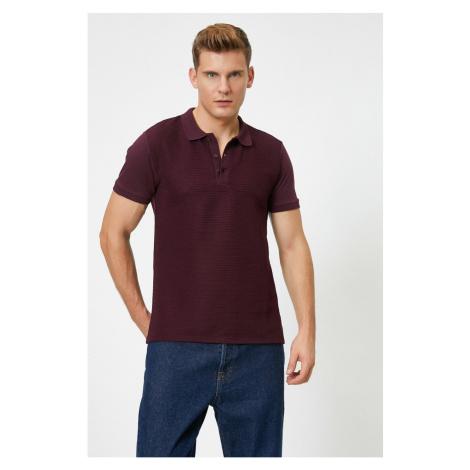 Koton Men's Polo Neck T-Shirt