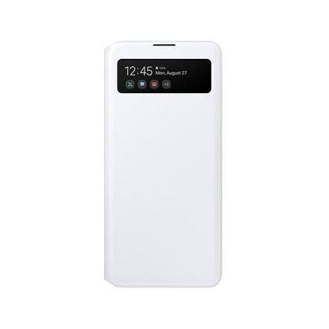 Samsung flipové pouzdro S View pro Galaxy A51 bílé