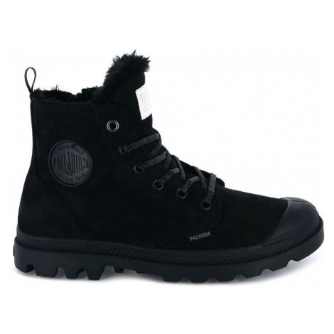 Palladium Pampa Hi Zip Wool Black černé 95982-010-M