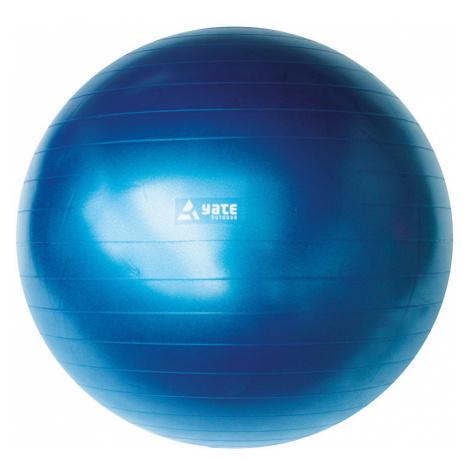 Míč na cvičení YATE Gymball 75 cm, modrá