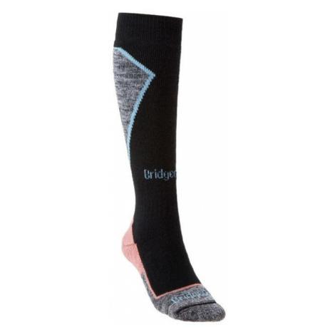 Bridgedale Ski Midweight+ Women´s black/coral (35-37 EU)