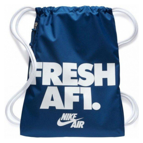 Vak Nike Heritage Gymsack Modrá / Bílá