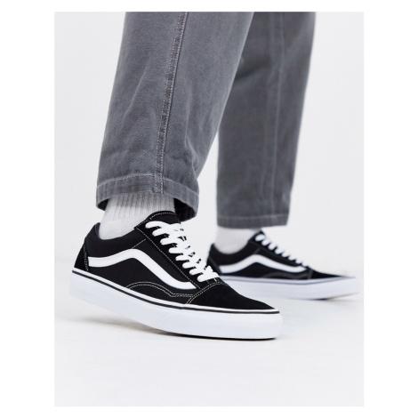 Vans Old Skool trainers In black/white