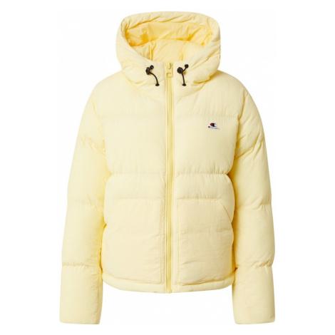 Champion Authentic Athletic Apparel Zimní bunda žlutá