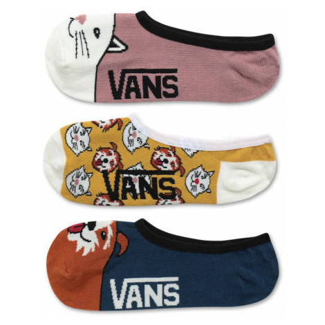 Ponožky Vans Houndstooth Check Canoodles 3P multicolour