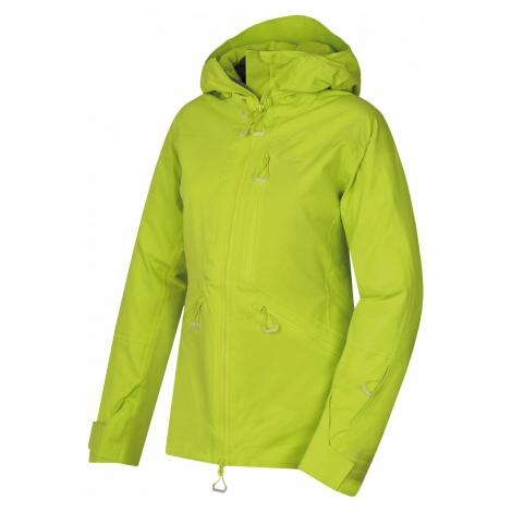 Husky Gomez l, výrazně zelená Dámská lyžařská bunda