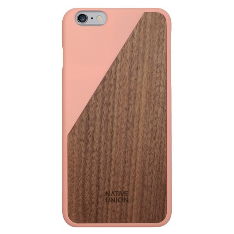 Kryt na iPhone 6 Plus – Clic Wooden Blossom Native Union