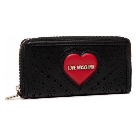 LOVE MOSCHINO LOVE MOSCHINO dámská černá peněženka