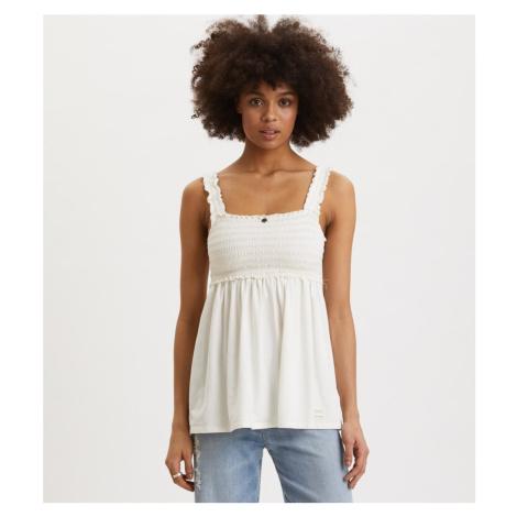 Tričko Odd Molly Peppy Top - Bílá