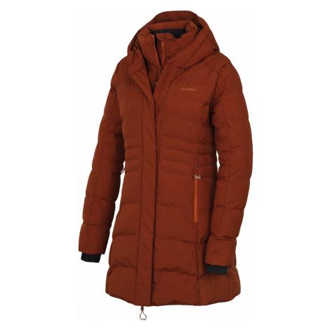 Husky Normy L, hnědá Dámský hardshell plněný kabátek