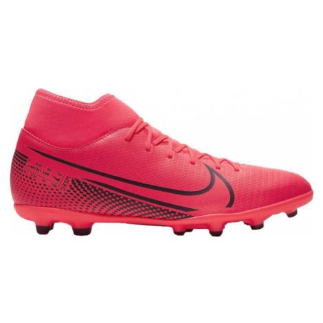 Nike MERCURIAL SUPERFLY 7 CLUB FG/MG růžová - Pánské kopačky
