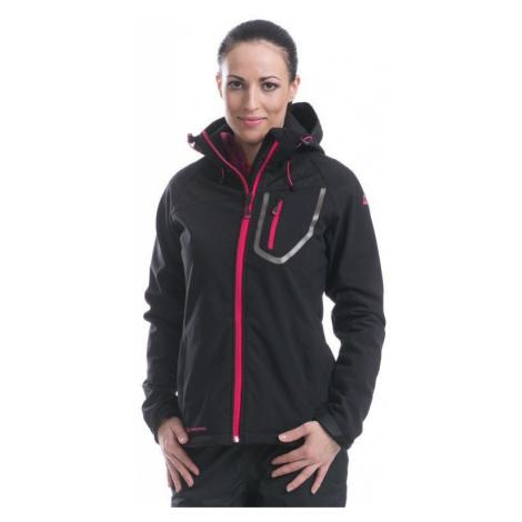 Dámská softshellová bunda Alpine Pro PUNTA ANNA - černá