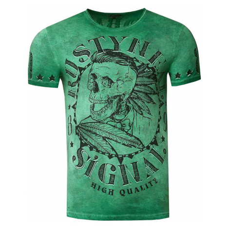RUSTY NEAL tričko pánské 15260 regular fit