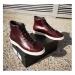 Converse Pro Leather High bordová 168750C