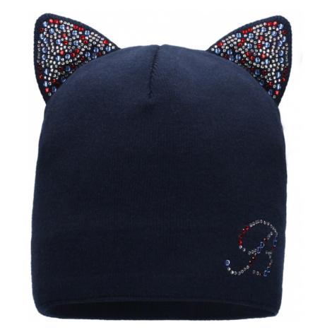 Barbaras Baby Girl Hat BX57/0 Navy Blue