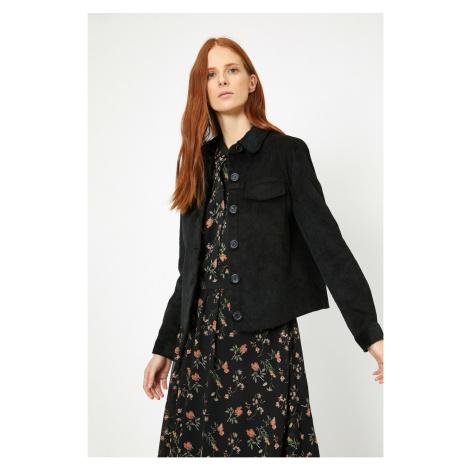 Koton Woman Black Coat