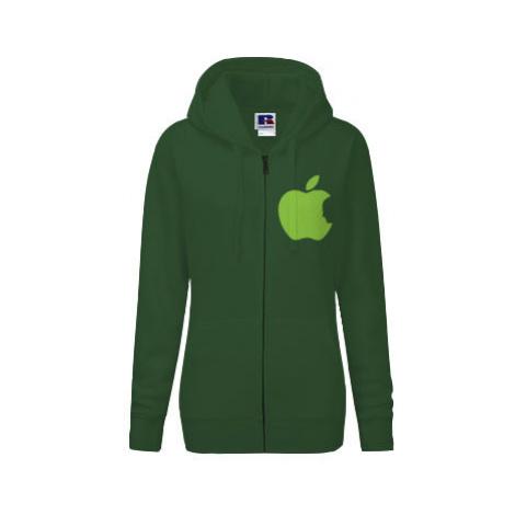 Dámská mikina na zip Apple Jobs