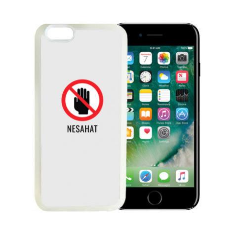 iPhone 7/8 kryt gumový soft Nesahat