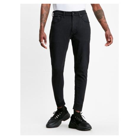 Džíny LEVI'S Lej 5 Pocket Knit Pants Engineered Dee Černá Levi´s