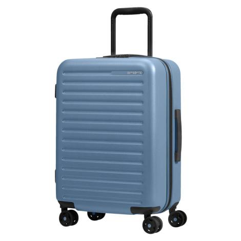 Samsonite Kabinový cestovní kufr StackD EXP 35/42 l - světle modrá
