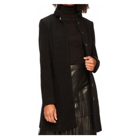 Černý vlněný kabát - LIU JO