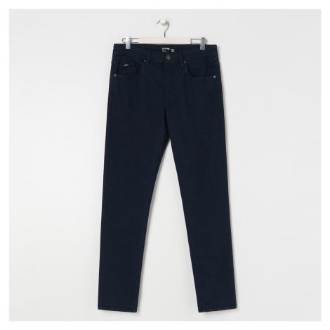 Sinsay - Kalhoty slim fit - Tmavomodrá