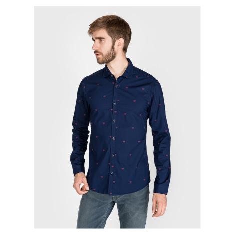 Košile Scotch & Soda Modrá