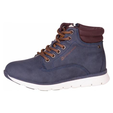 Dětská obuv Alpine Pro LARRIS - tmavě modrá