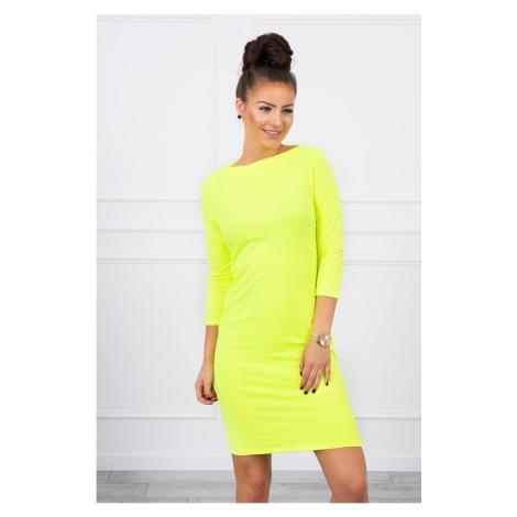Dress Classical yellow neon Kesi
