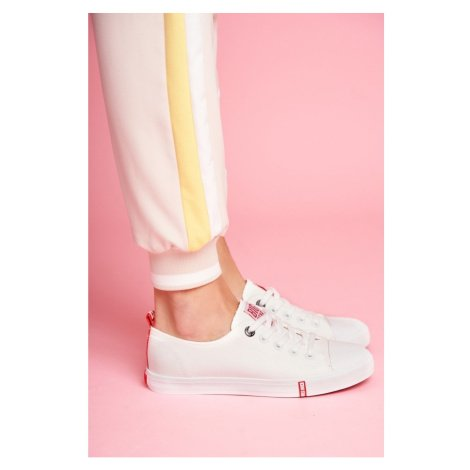 Women's Sneakers Big Star FF274087 White-Red
