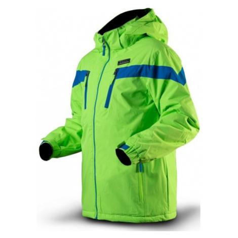 TRIMM SATO zelená - Chlapecká lyžařská bunda